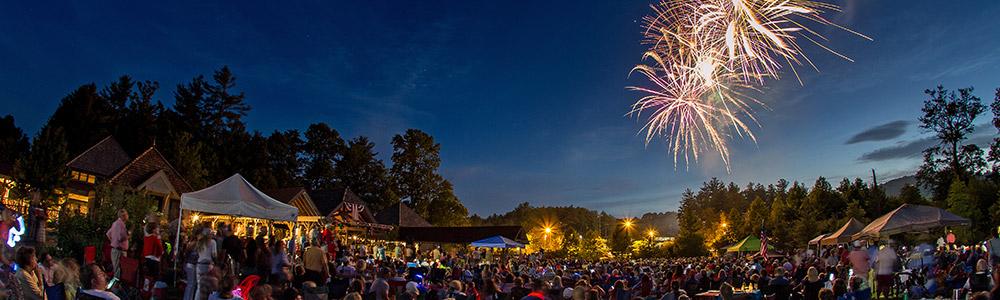 fireworks cashiers nc july 4